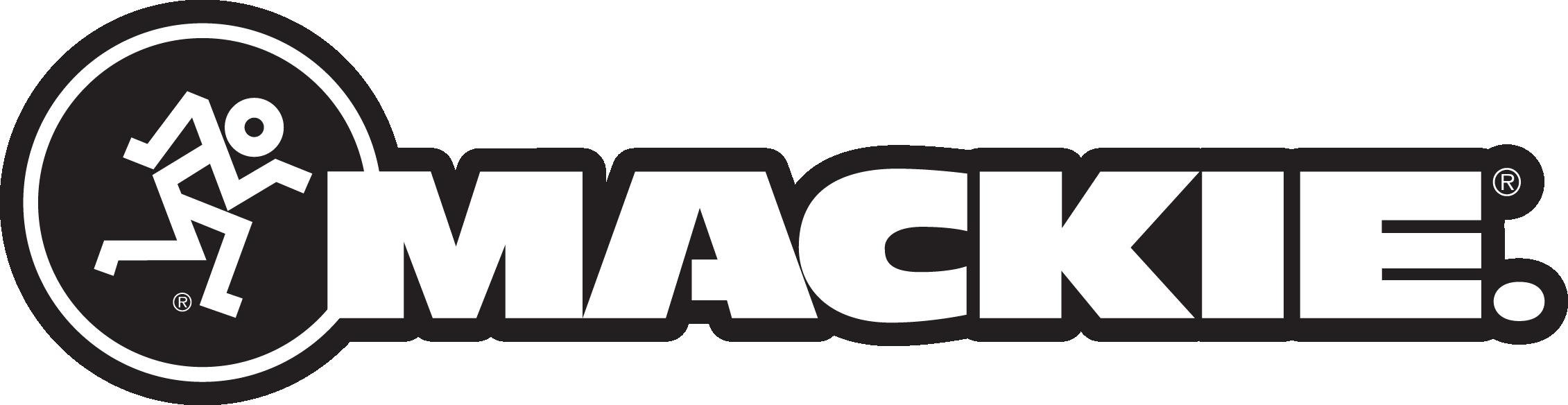 Mackie combo logo black outline