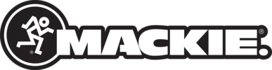 Mackie combo logo black outline
