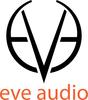 Eveaudio logo filllettering whitebg