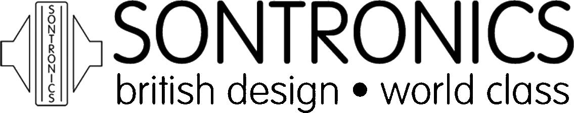Sontronics logo black