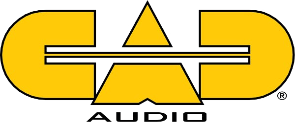 Cad audio logo