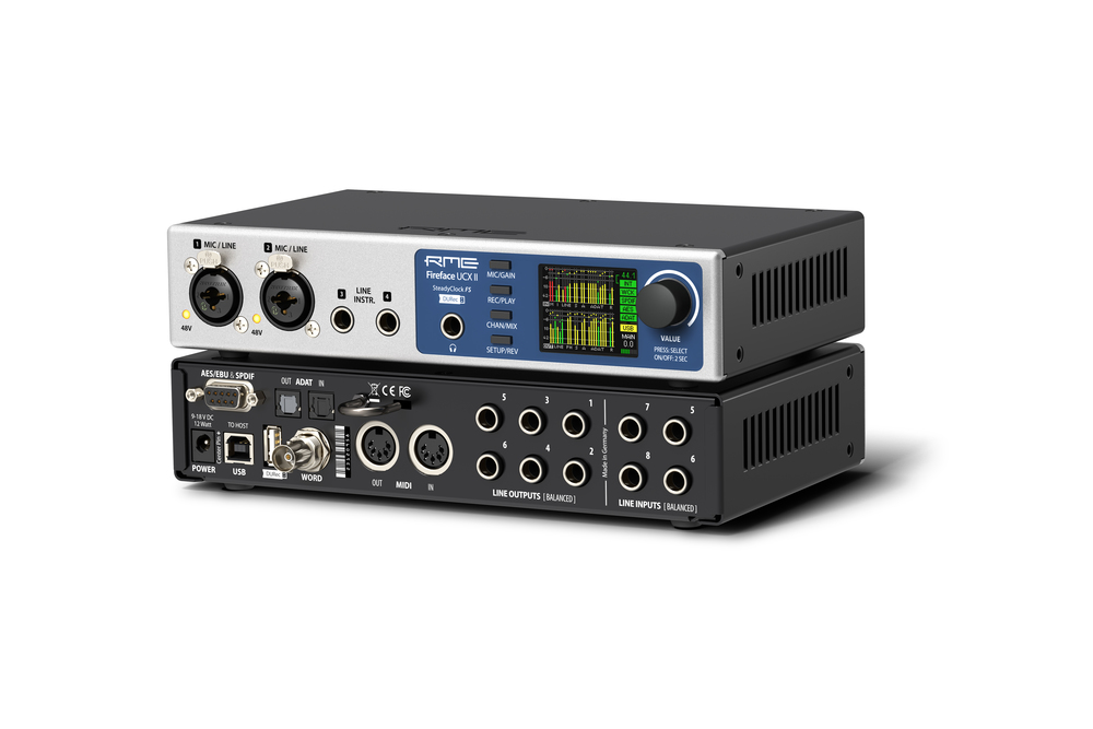 Rme fireface ucx ii perspective