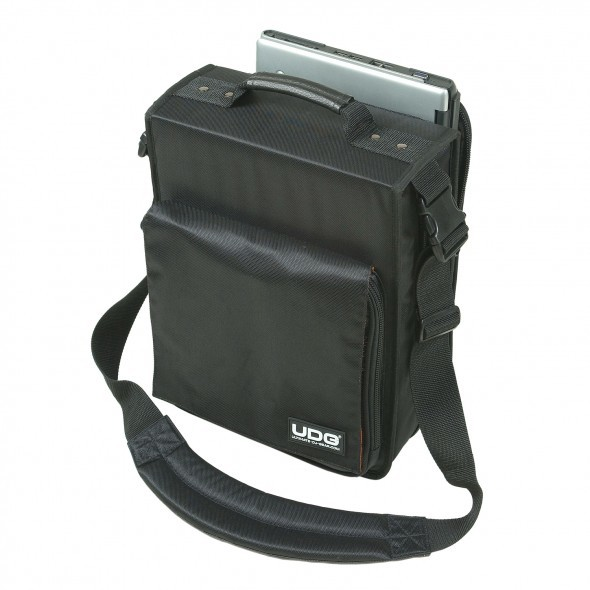 U9646bl udg cd slingbag front laptop