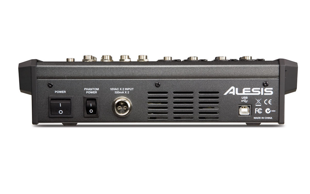 Alesis multimix8usbfx back large