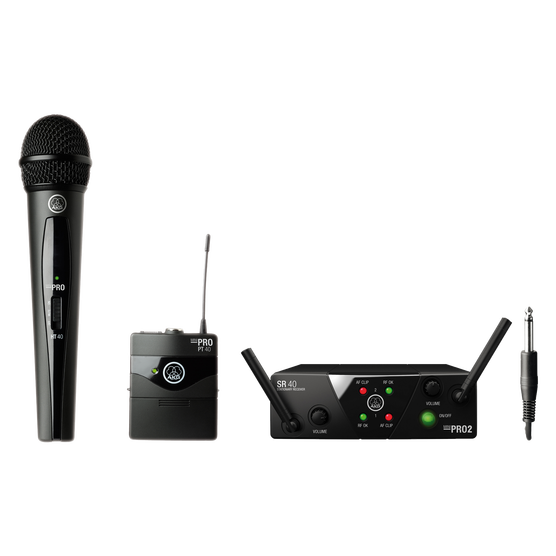 Akg wms40 mini2 vocal instrumental