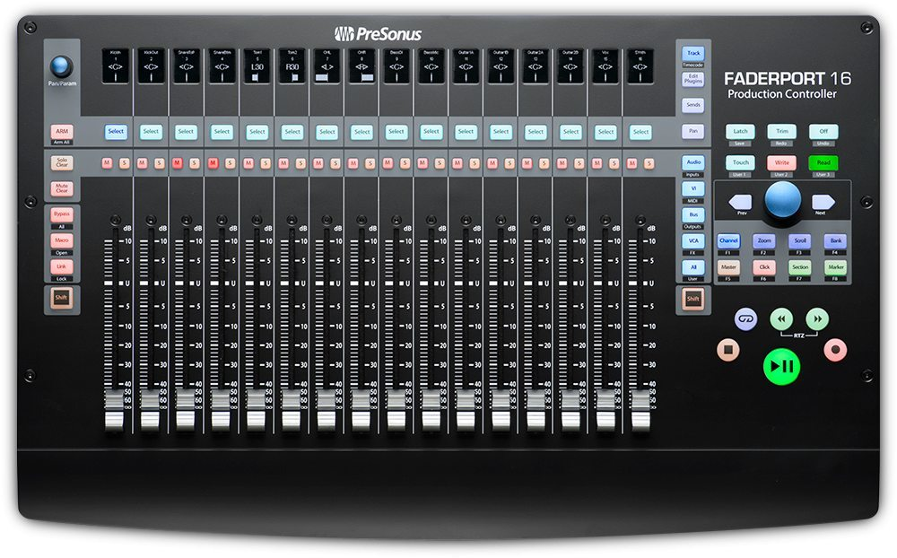Presonus faderport 16 top big