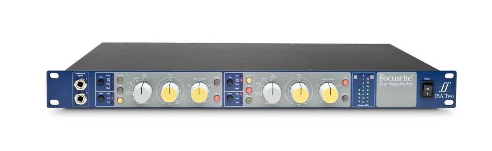 Focusrite isa two.progressive