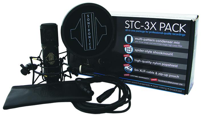Sontronics stc3x black mic accessories %281%29