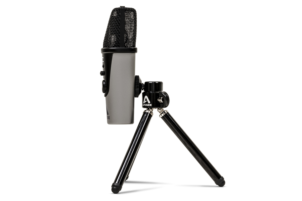 Apogee mic plus side facing left tripod 1000 1