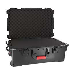 Flight case abs ip65 avec trolley %284%29