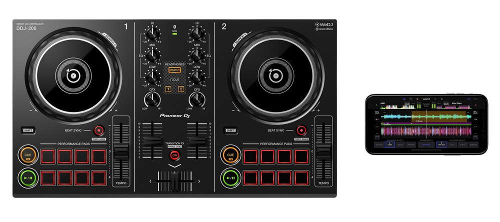 Ddj 200 top iphone