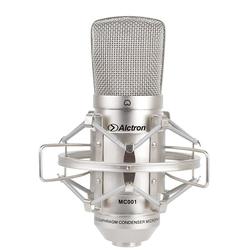 Qualidade superior frete gr tis alctron mc001 condensador microfone pro microfone est dio de grava o