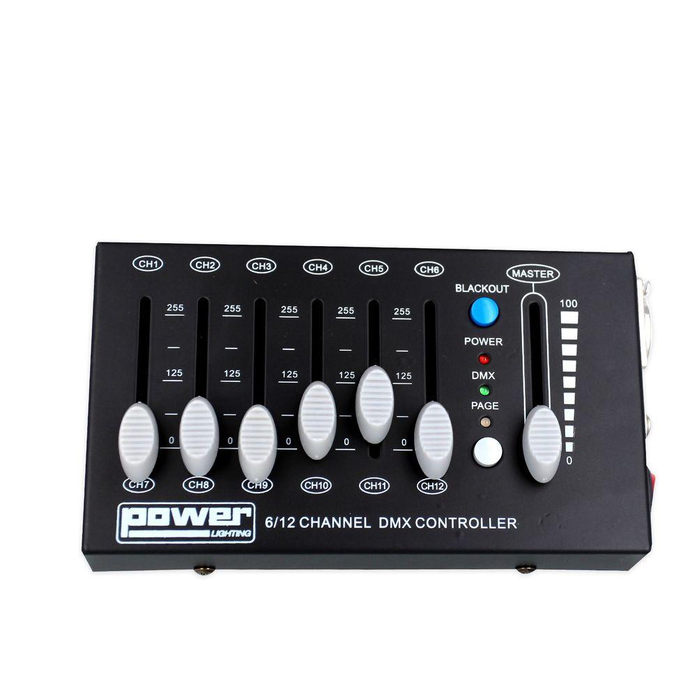 Console dmx 12 canaux