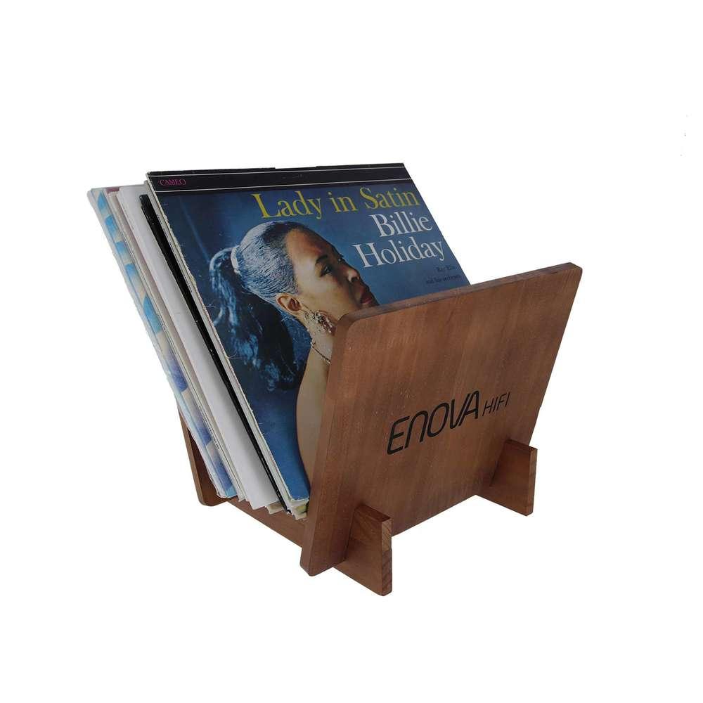 Support vinyle 25 lp finition bois