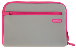Pink case front